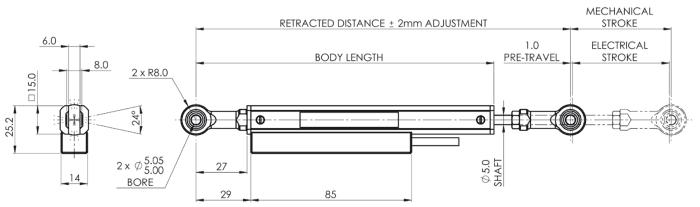 capteur de position lineaire vlpcs variohm