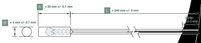 dimensions capteur temperature etp-tp