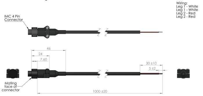 kit adaptateur pour sonde de temperature etp-am-sp-imc