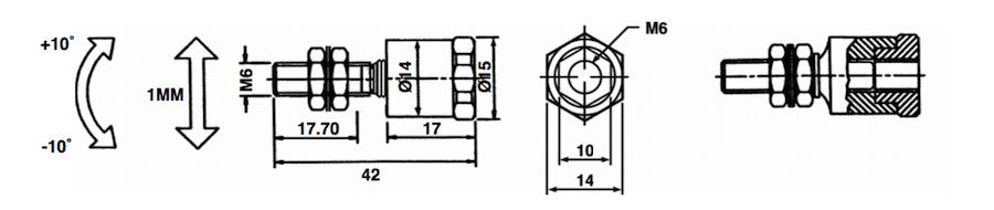 KTC-01 dimension rotule