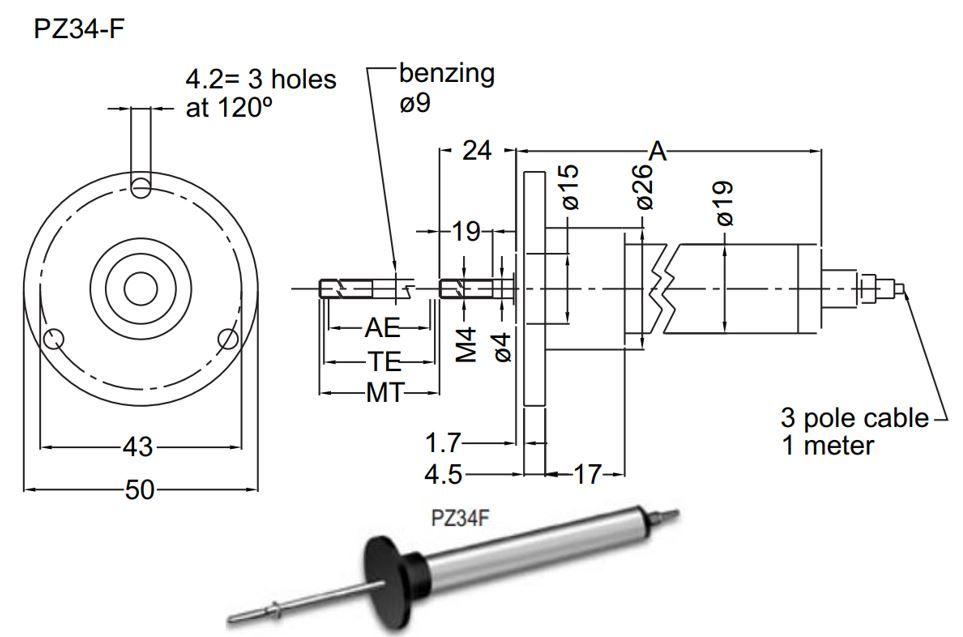 pz34f-capteur-de-deplacement-lineaire