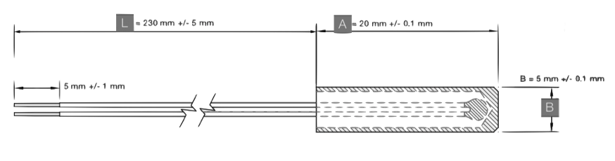 dimensions sonde etp-tp-B