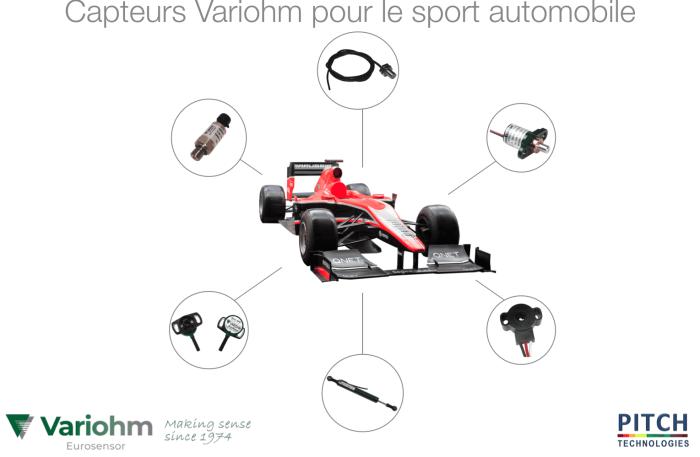 Capteurs sport automobile Variohm