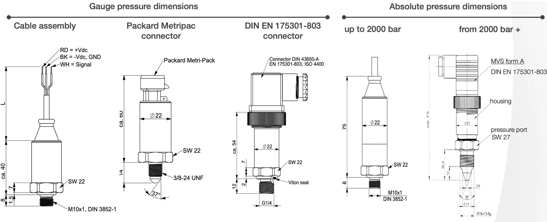 dimensions ept3100 variohm
