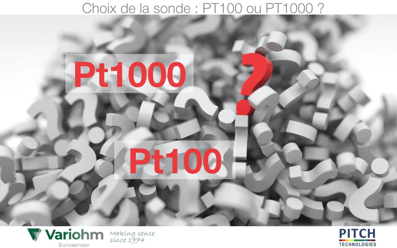 Quelles Sont Les Differences Entre Une Sonde Pt100 Et Pt1000 Capteurs