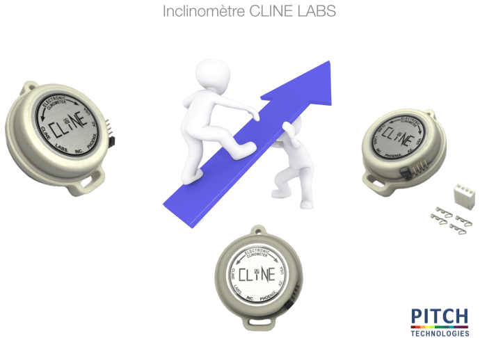 INCLINOMETRE PITCH CLINE LABS