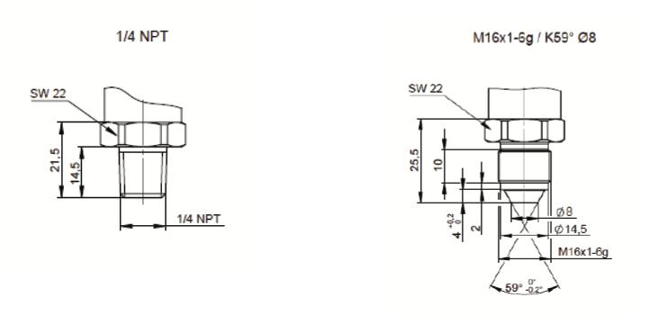 Connecteurs EPT31H2 hydrogen